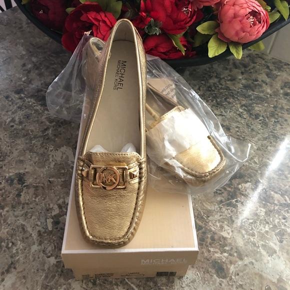 Michael Kors Shoes - 🌟🌟MK FLATS GOLD🌟🌟